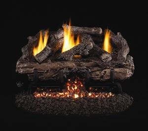 Picture of Charred Aged Split Oak Vent Free Log Set