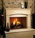 Picture of Superior Masonry Wood Burning Fireplace 42""