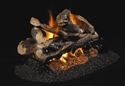 Picture of Rugged Split Oak See Thru Vented Log Set