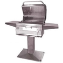 "Picture of Firemagic Patio Post Legacy 24"" Charcoal Grill"