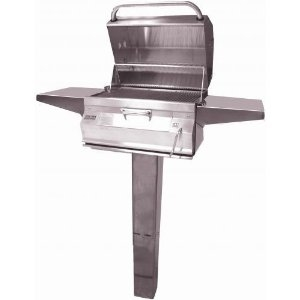 "Picture of Firemagic In-Ground Post Legacy 24"" Charcoal Grill"