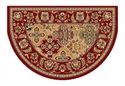 Picture of Red Kashan Hearth Rug