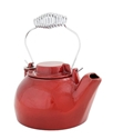 Picture of 2 1/2 Qt. Cast Iron Humidifying Kettle - Red Enamel