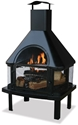Picture of Uniflame WAF1013C Outdoor Wood Burning Firehouse